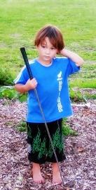 golf kid